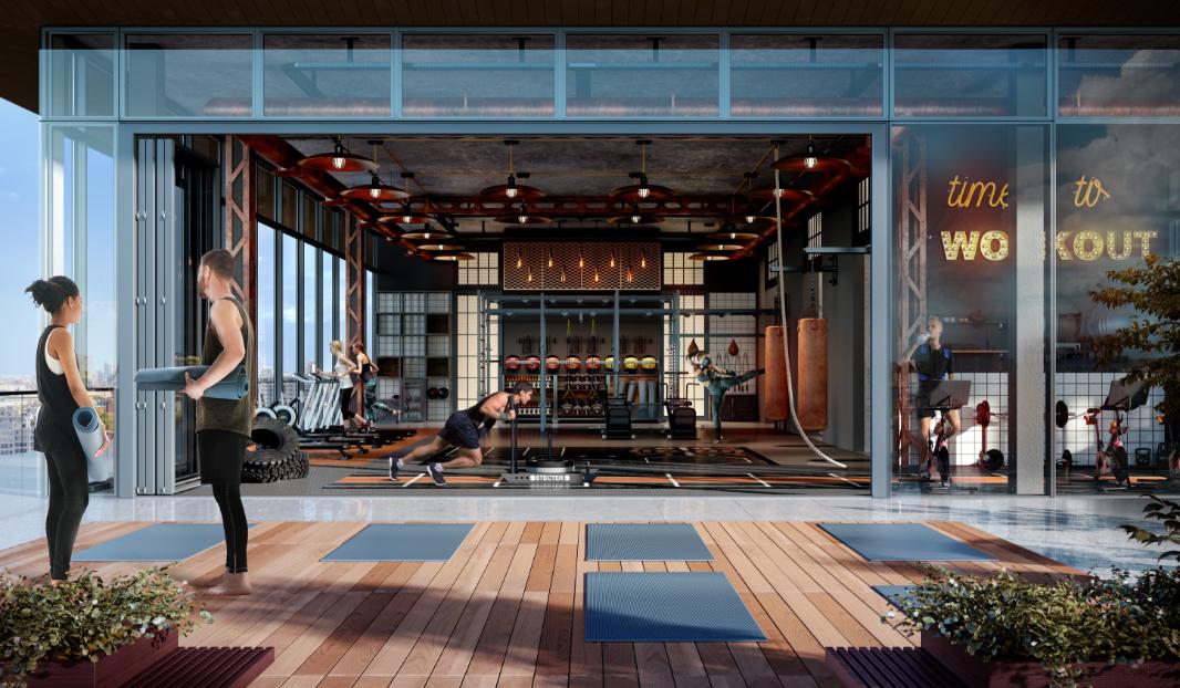 320 N Sangamon wellness/fitness center