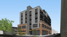 1800 W Berenice Avenue. Rendering by Sullivan Goulette Wilson Architects