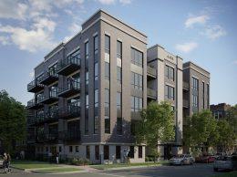 4447 N Hazel Street. Rendering by SPACE Architects + Planners
