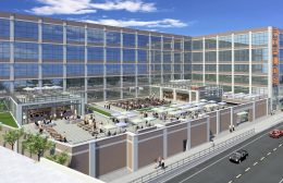 New Rooftop Deck at The Fields Development at 4000 W Diversey. Rendering by HirschMPG