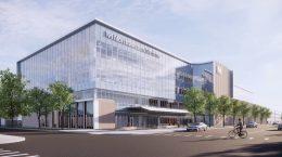 Northwestern Medicine Outpatient Center. Rendering by CannonDesign