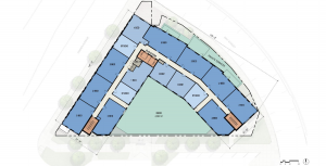 Inspire West Town second floor plan
