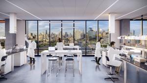 Fulton Labs at 400 N Aberdeen Street lab space