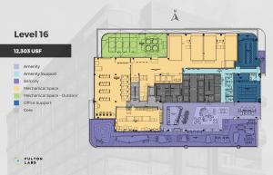 Fulton Labs at 400 N Aberdeen top floor
