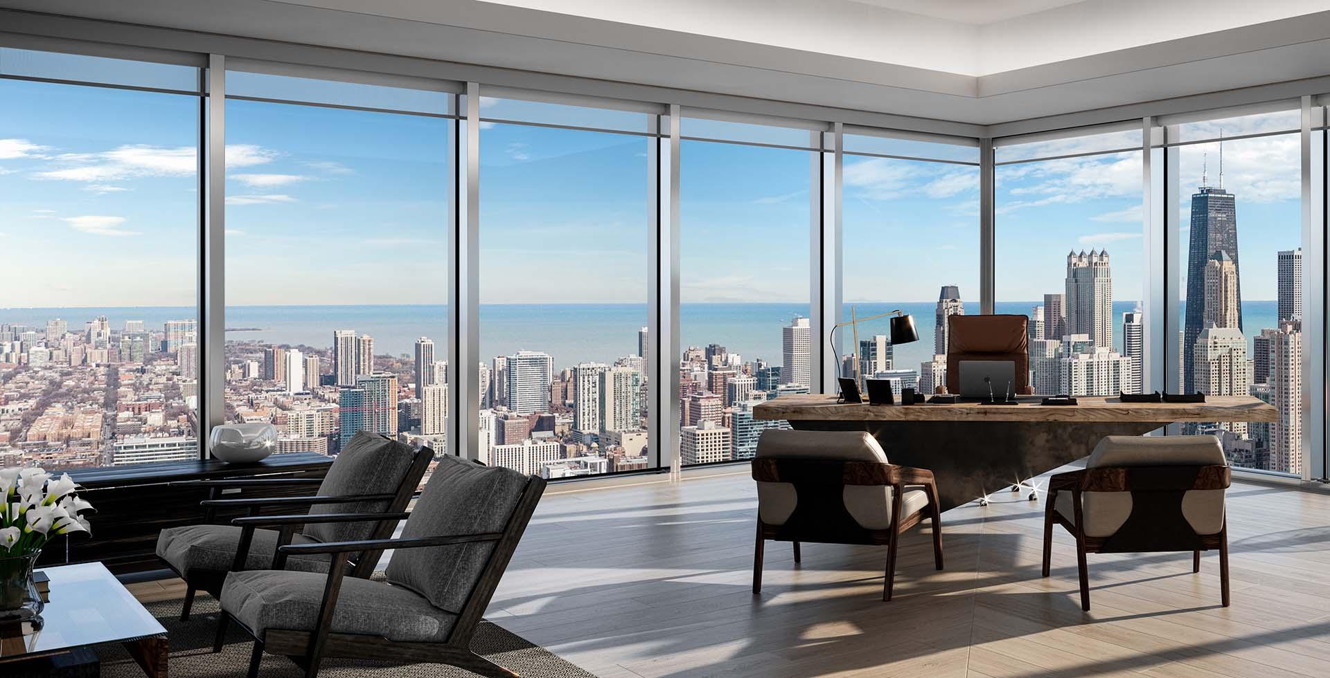 Salesforce Tower Chicago office interior