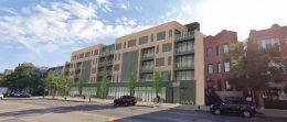 1317 N Western Avenue. Rendering by Johnathan Splitt Architects