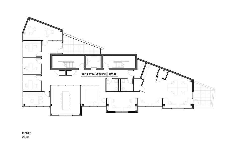 1525 N Elston Avenue second floor plan