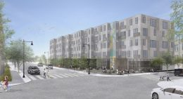 Evergreen Imagine Proposal for Auburn Gresham RFP Site. Rendering by Ross Barney Architects and Nia Architects