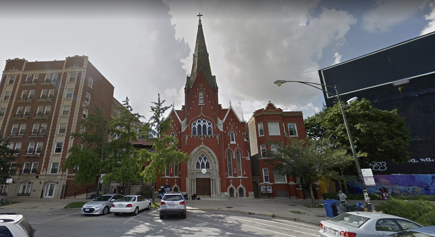 Norwegian Lutheran Memorial Church of Chicago at 2614 N Kedzie Avenue via Google Maps