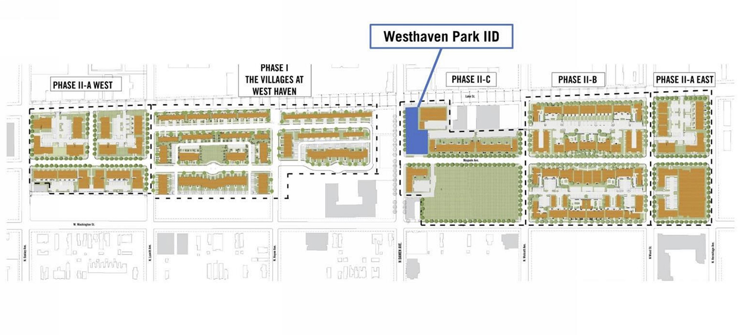 Phased Master Plan for Westhaven Park. Drawing by LBBA