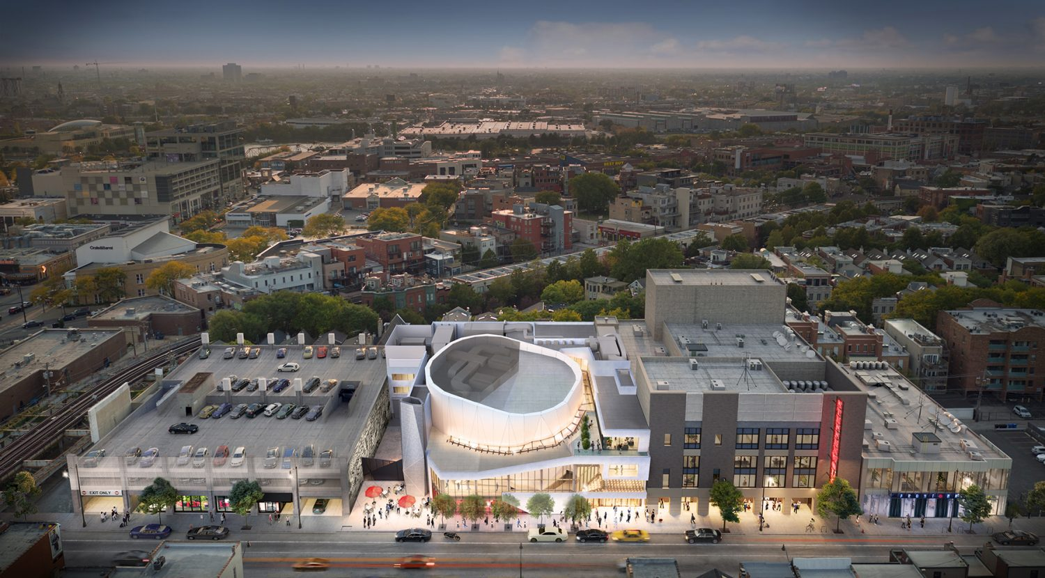 Steppenwolf Theater campus overview