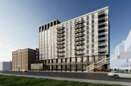 140 N Ashland Avenue. Rendering by Brininstool + Lynch