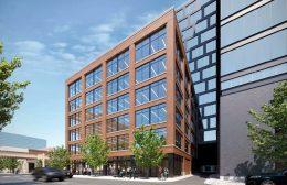 817 W Lake Street. Rendering by Eckenhoff Saunders Architects