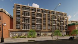 2907 W Irving Park Road. Rendering by CAMACC Architecture