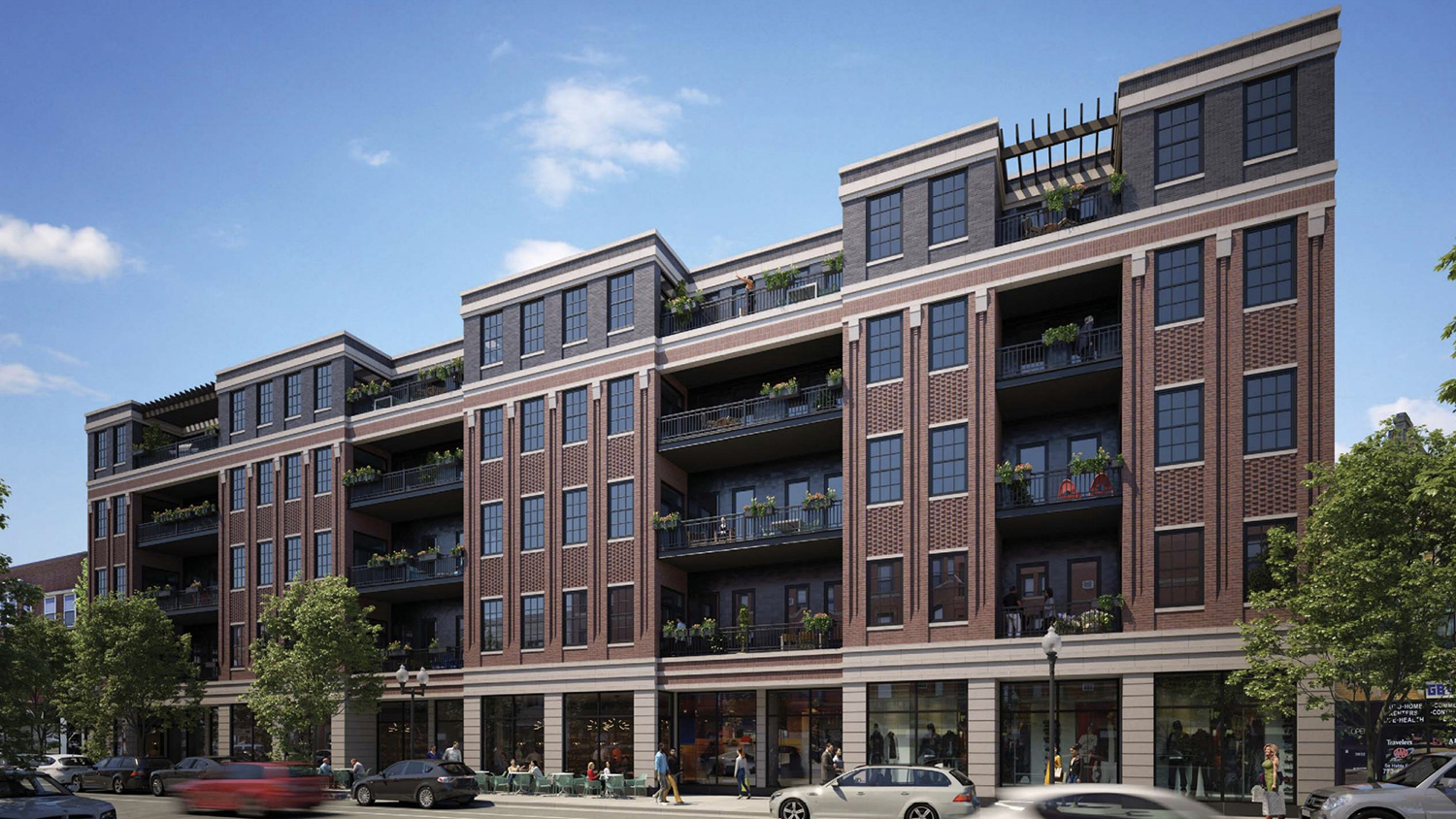 3914 N Lincoln Avenue. Rendering by SPACE Architects + Planners