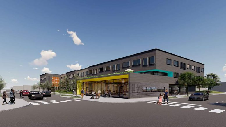 Garfield Green Development. Rendering by Perkins + Will and Nia Architects