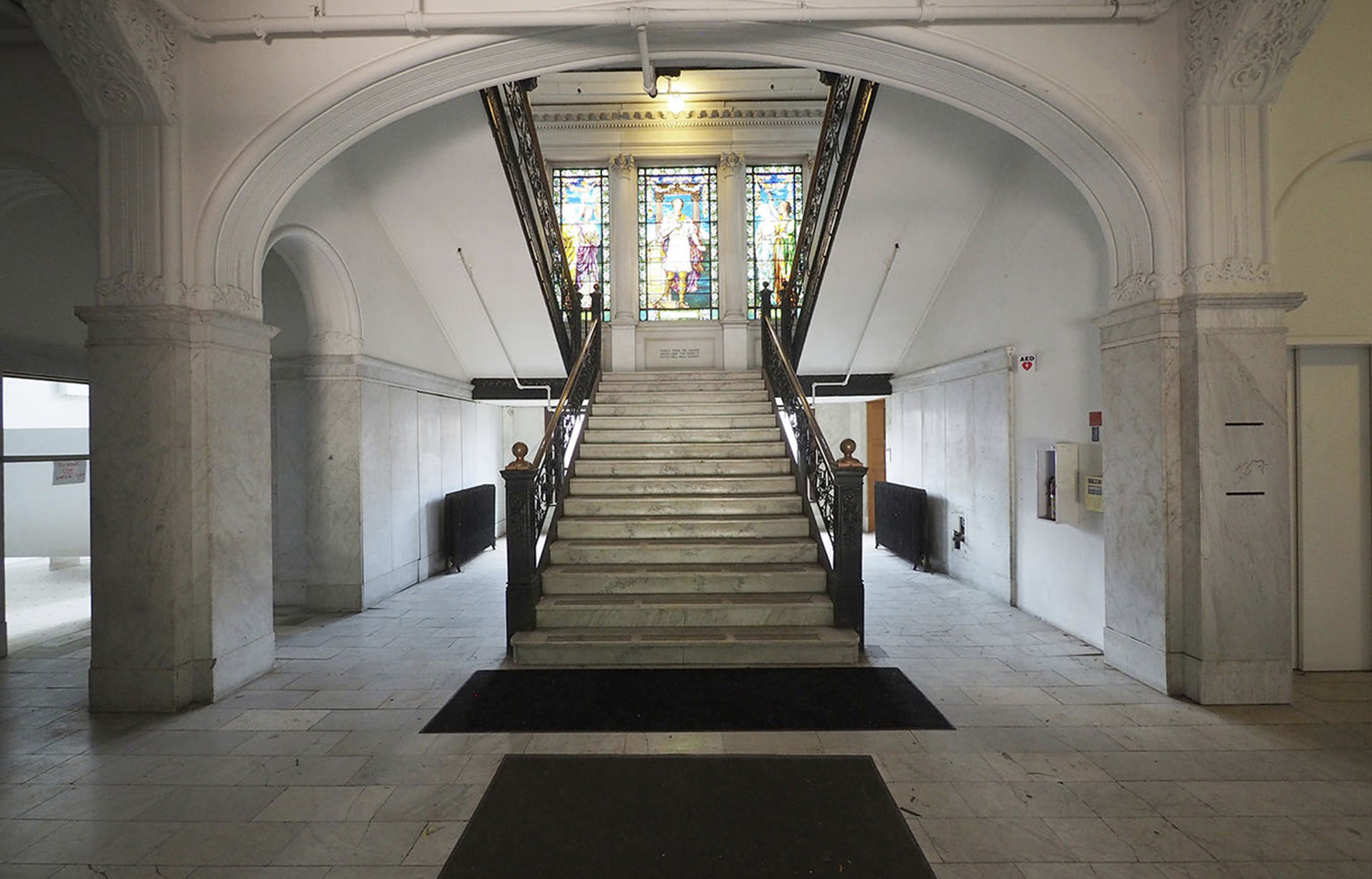 Interior of Armour Institute Building at 3300 S Federal Street. Image by Pappageorge Haymes