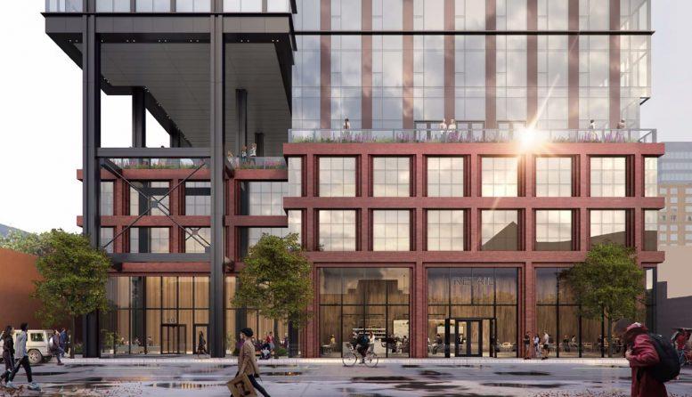 160 N Morgan Street. Rendering by bKL Architecture
