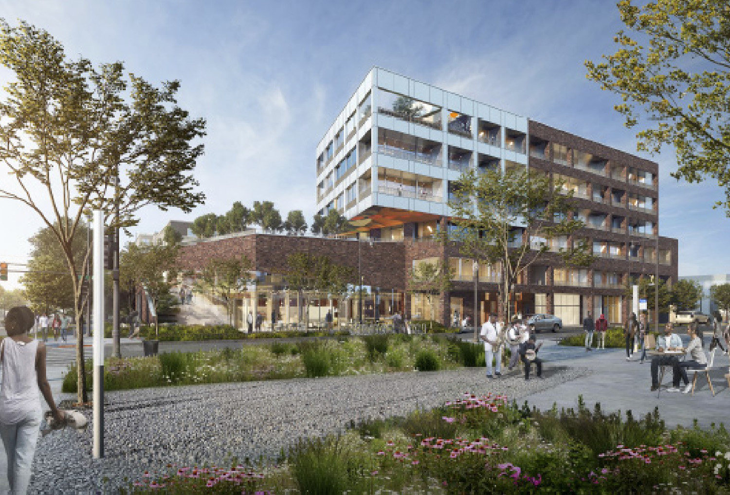 The Legacy District. Rendering by LBBA, Volume One Design Studio, and Civic Projects