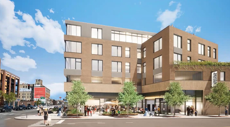 View of 4715 N Western Avenue. Rendering by DesignBridge