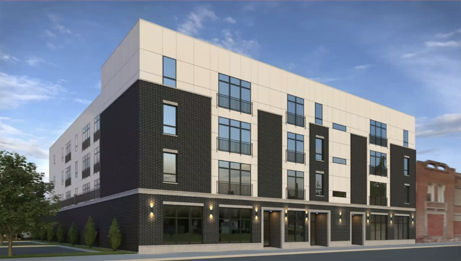 920 E 43rd Street. Rendering by Pro-Plan Architects