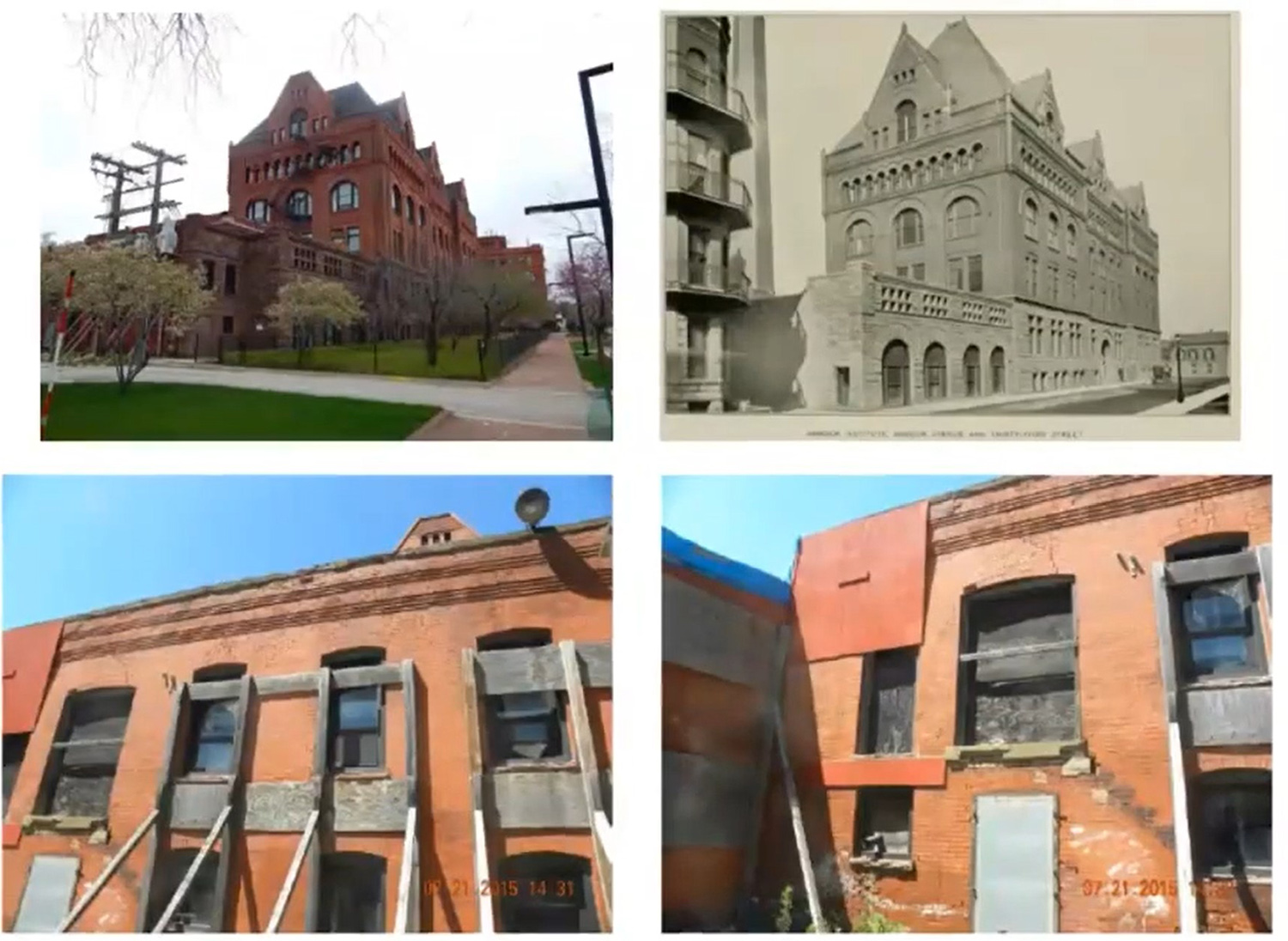 Images of Boiler House at 3300 S Federal Street. Images by Pappageorge Haymes