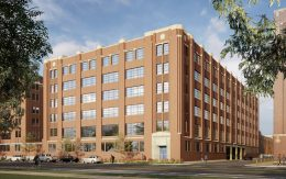 Parkview Lofts and Commerce at 2139-2159 W Pershing Road. Rendering by FitzGerald Associates