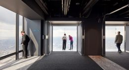Skydeck at Willis Tower. Image by SOM