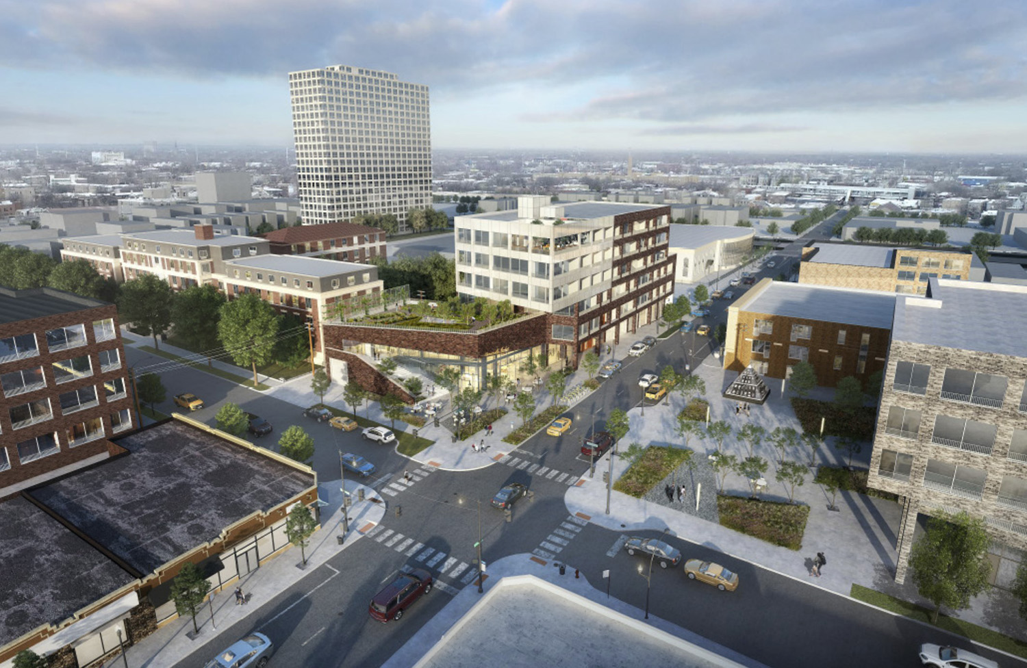 Chicago YIMBY: Invest South/West Reveals Development Proposals For Bronzeville RFP Site At 449 E 47th Street In Bronzeville