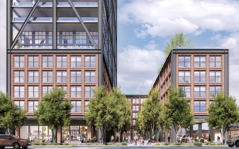 1201 W Fulton Market. Rendering by Morris Adjmi Architects