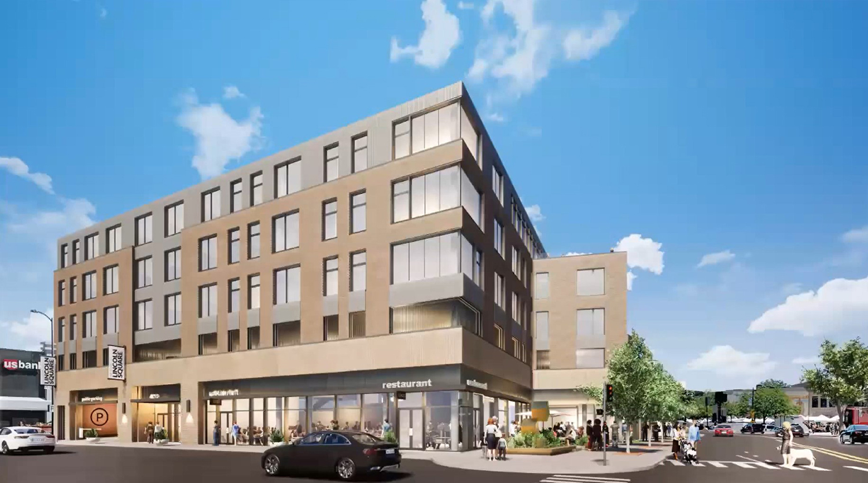 4715 N Western Avenue. Rendering by DesignBridge
