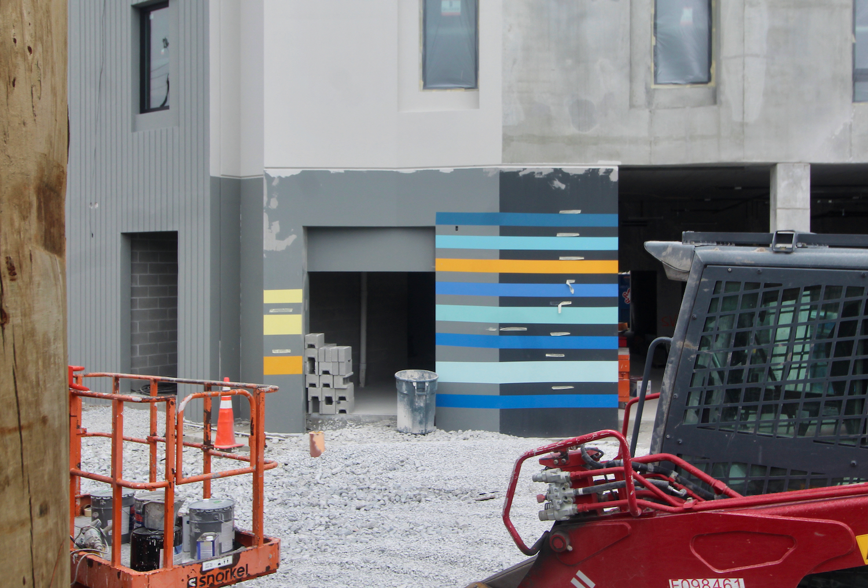Emmett Street Apartments paint samples