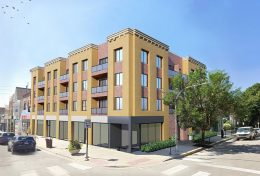 1138 W Belmont Avenue. Rendering by Red Architects
