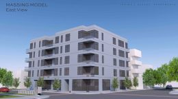 2250 W Irving Park Road. Rendering by Sullivan, Goulette, and Wilson Architects