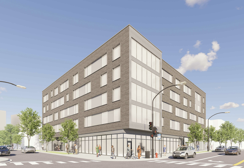 3601 N Ravenswood Avenue. Rendering by HirschMPG