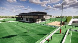 Chicago Fire Performance Center. Rendering by Chicago Fire FC