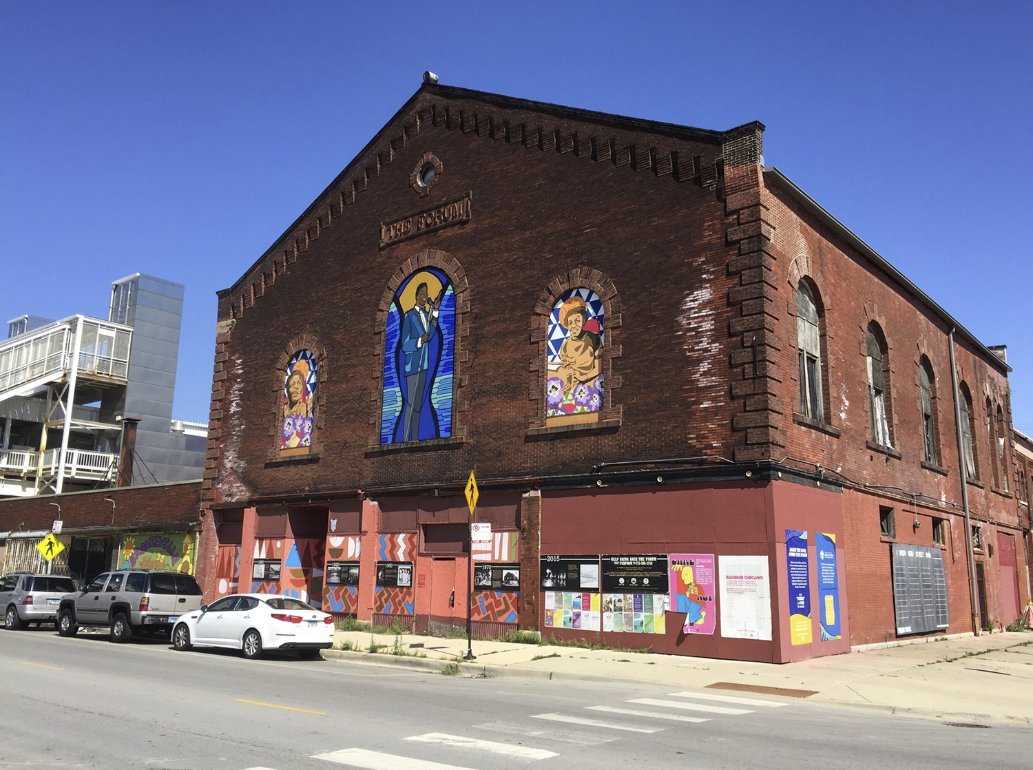 The Chicago City Council has approved the redevelopment plans for The Forum, located at 318 E 43rd Street in Bronzeville.