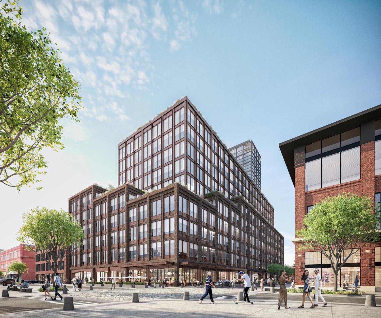 917 W Fulton Market. Rendering by Morris Adjmi Architects