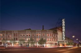 Congress Theater. Rendering by Woodhouse Tinucci Architects