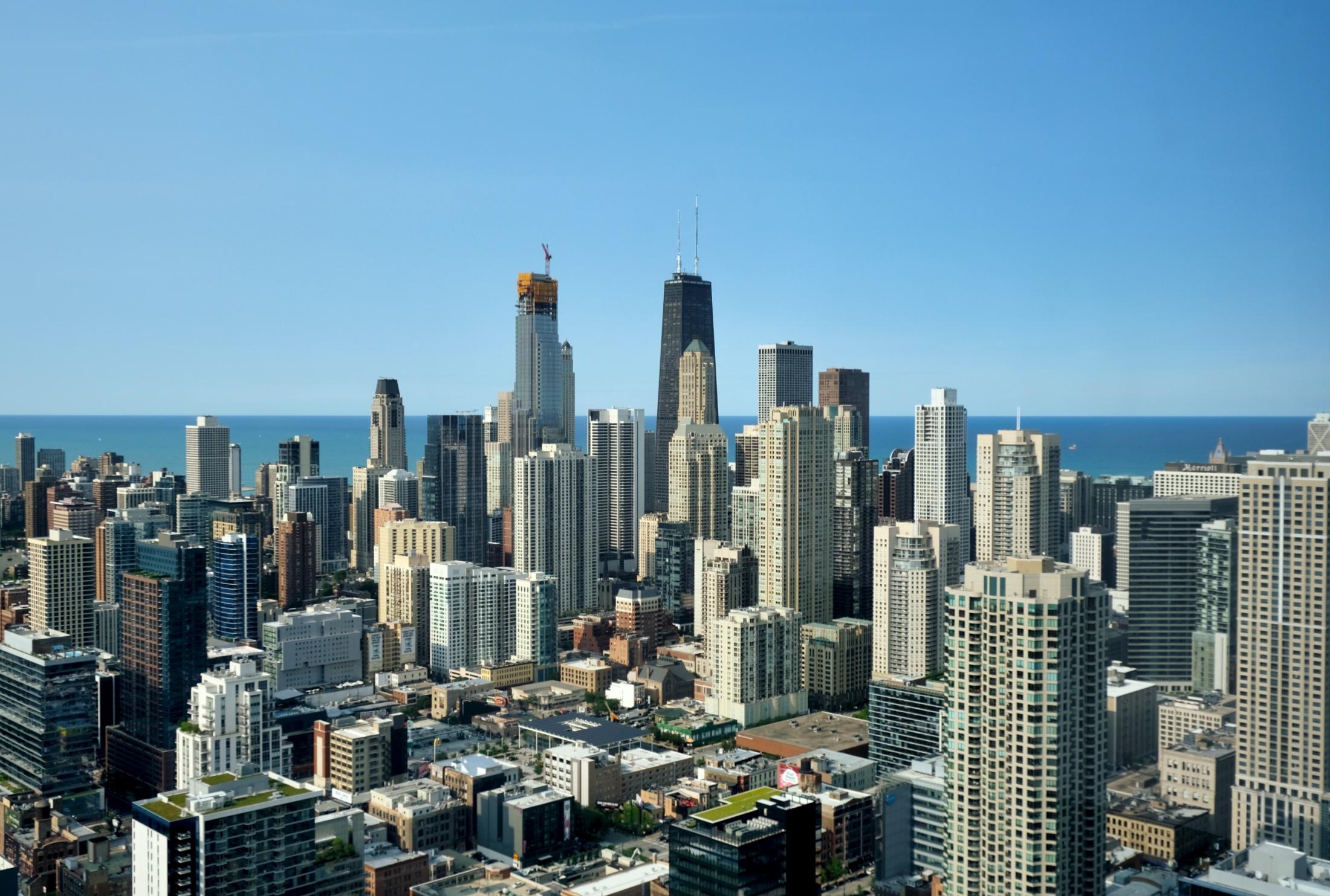 One Chicago (center left)