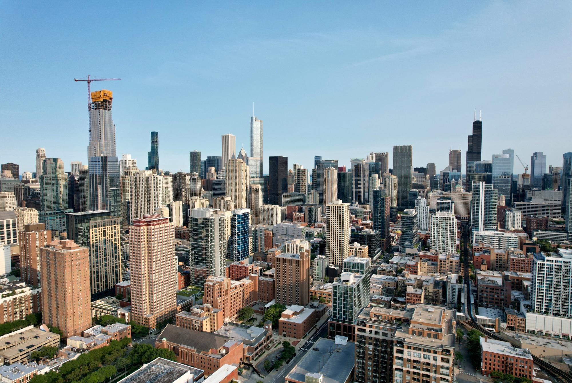 One Chicago (left)