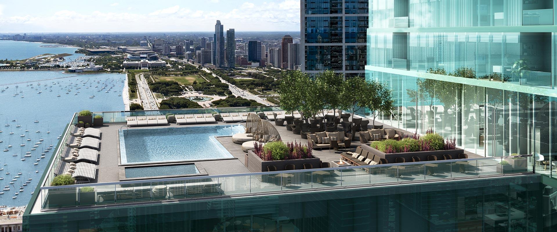 Resident amenity terrace