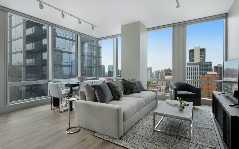 One Chicago Apartments unit interior