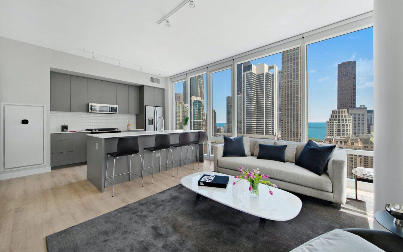 23 West Apartments unit interior