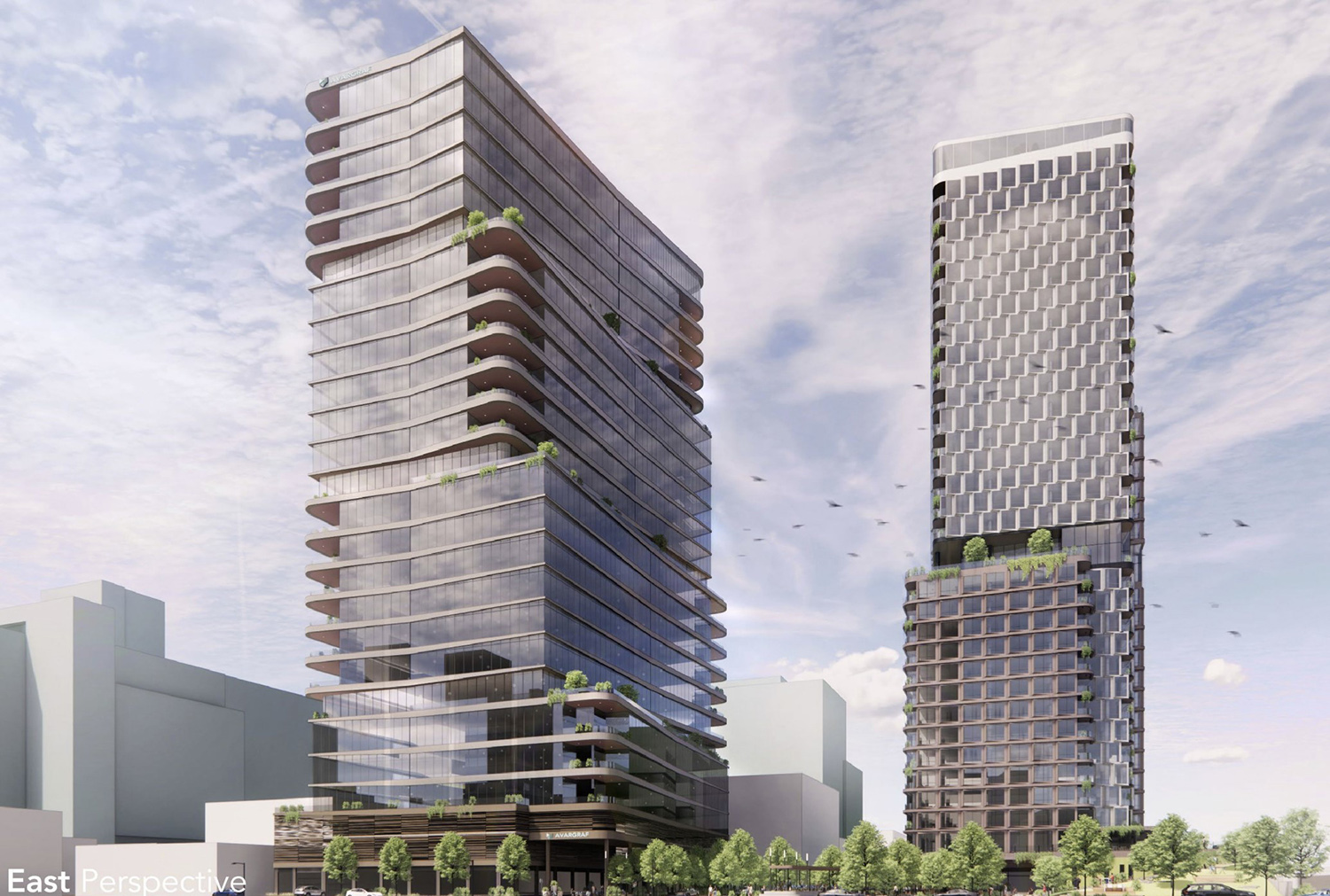 1112 W Carroll Avenue and 315 N May Street. Rendering by ESG Architects