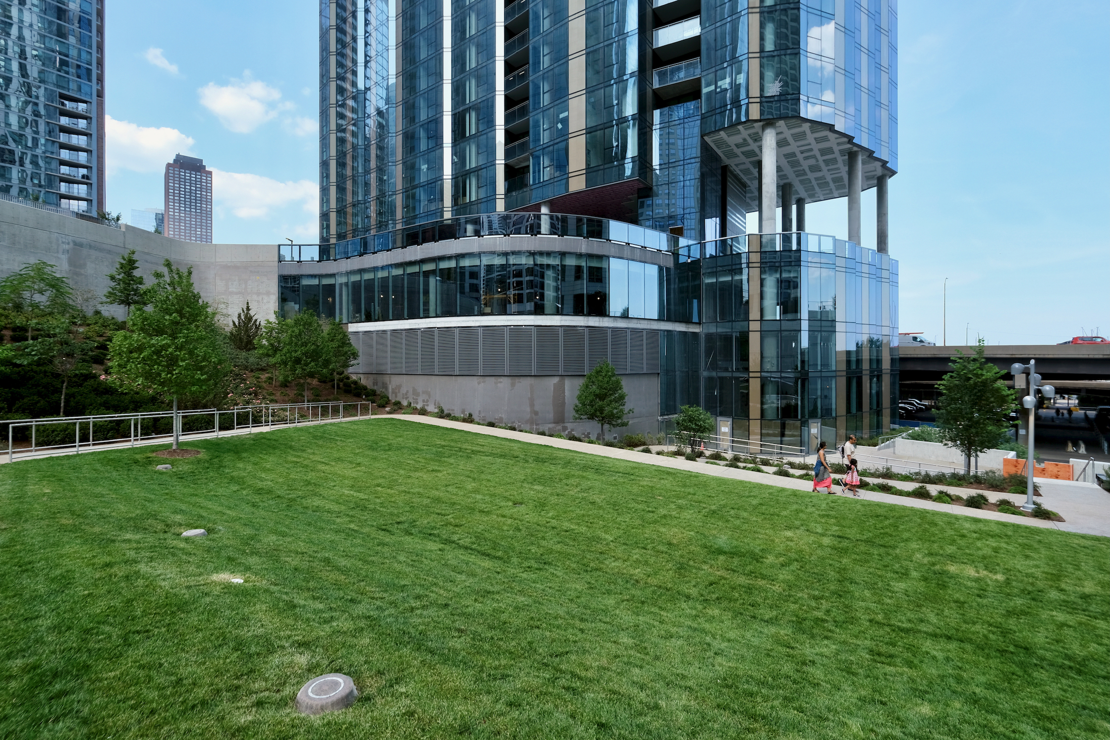 Cascade Park at the foot of Cirrus tower