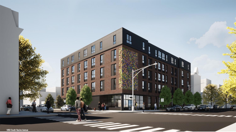 1850 S Racine Avenue. Rendering by DesignBridge