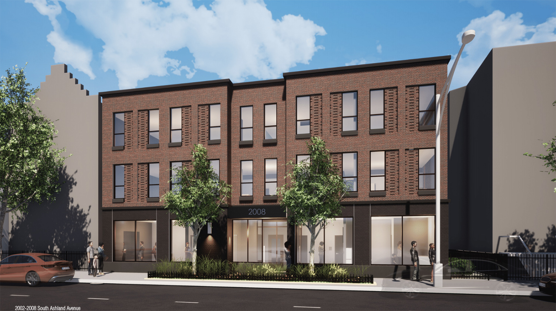 2008 S Ashland Avenue. Rendering by DesignBridge