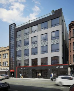 3217 N Clark Street. Rendering by Sullivan Goulette Wilson Architects