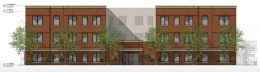 3346 W Carroll Avenue. Drawing by Deconstruct Architecture
